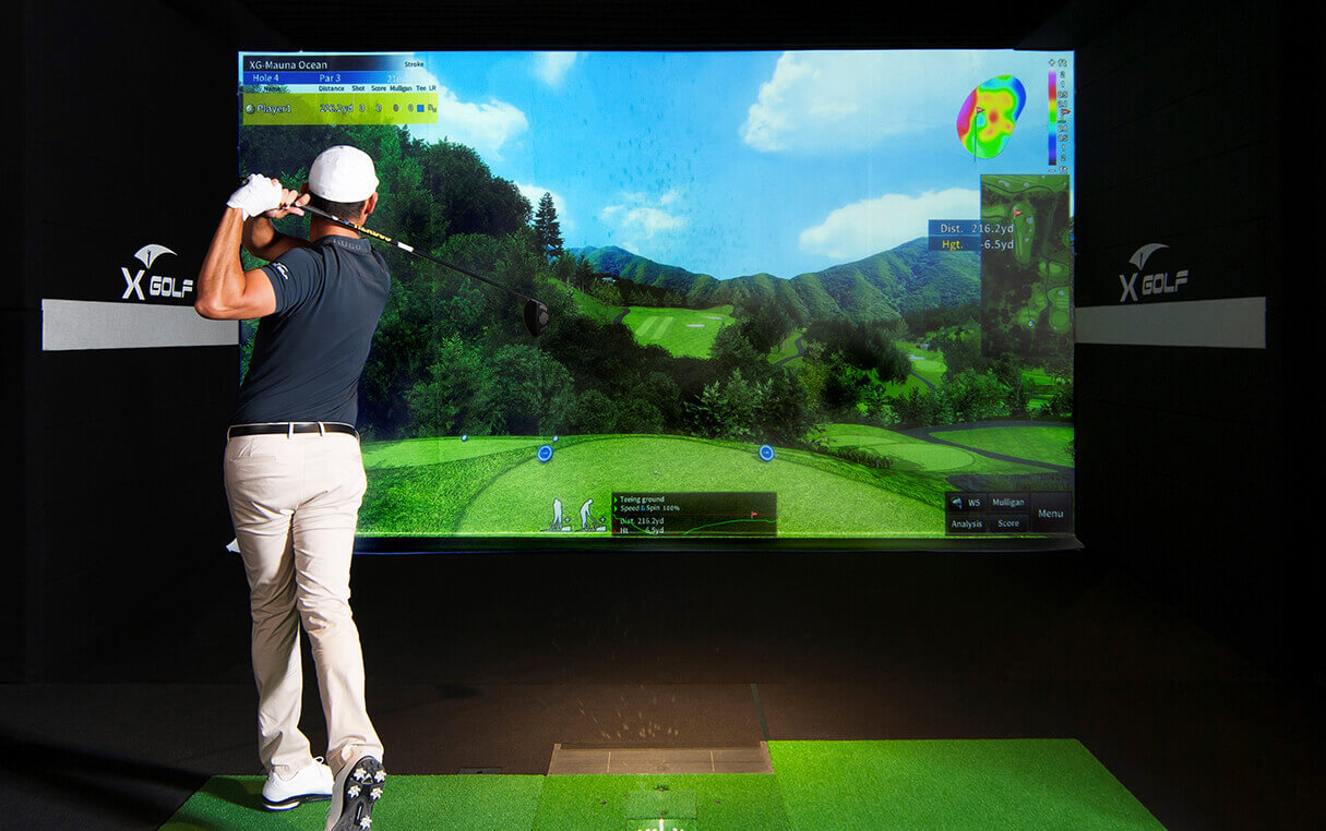 X-Golf's Unmatched Technology