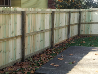 Exterior Maintenance and Fencing