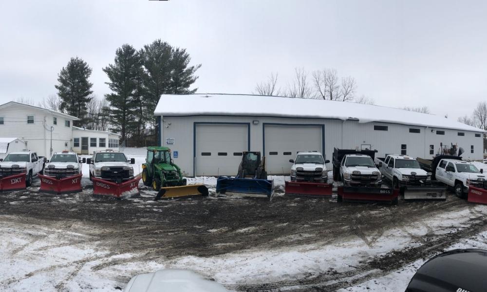 Snow Plowing Team