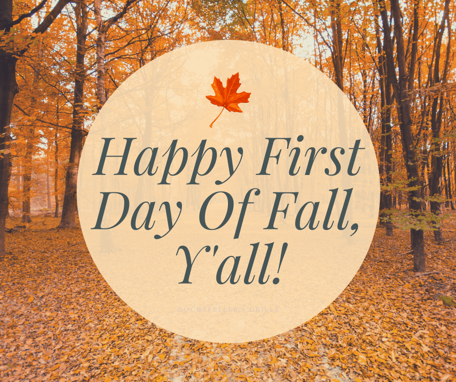Fall is in the air…