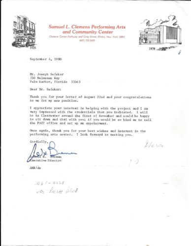 RESPONSE TO LTR BY ARNOLD BREMEN 9-80