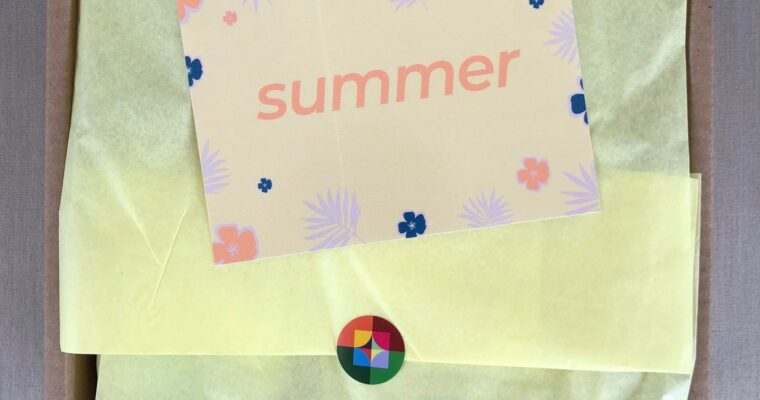 Little Life Box Review Summer 2020