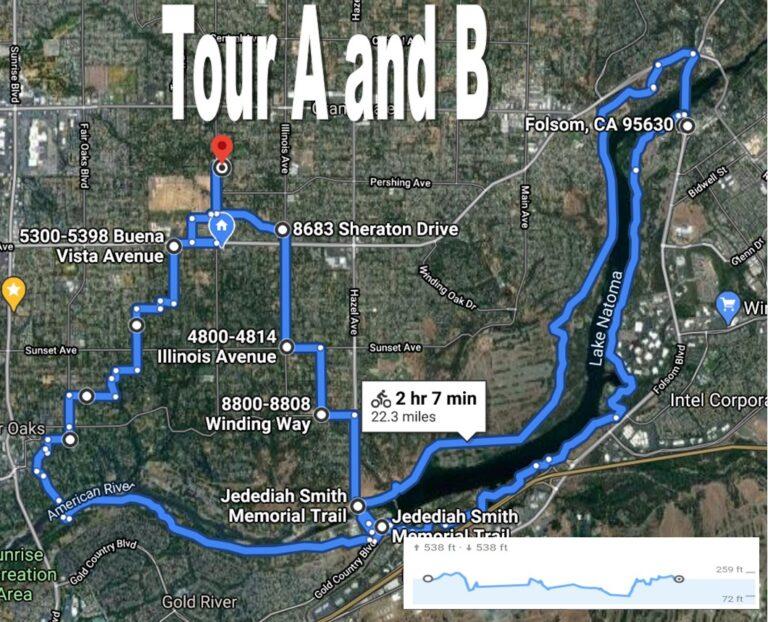 Bike Tour A and B