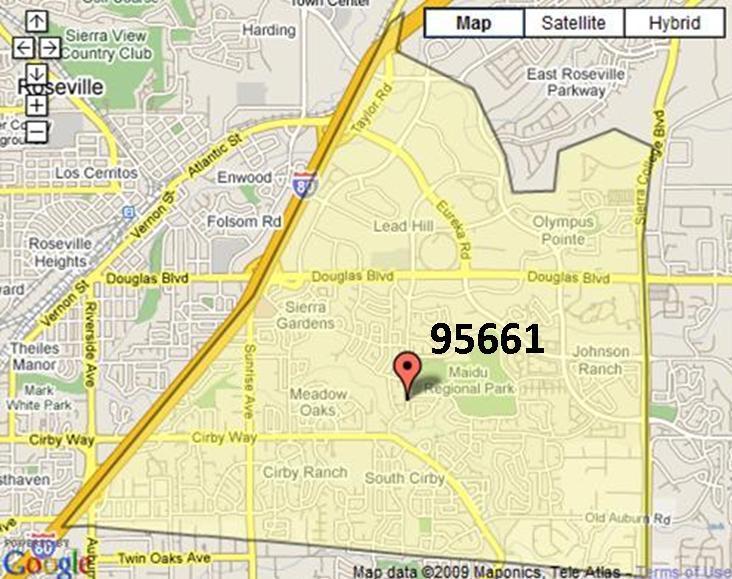 Roseville 95661 (East)
