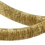 Guirnalda Gold Tinsel Fringe