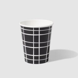 Vasos Black Grid