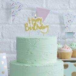 Vela Gold Happy Birthday