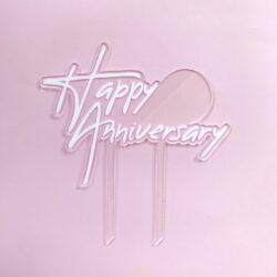 Topper Happy Anniversary