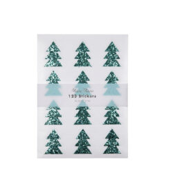 Hojas Sticker Glitter Tree