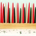Candle Rojo y Negro