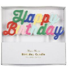 Vela Happy Birthday Multicolor