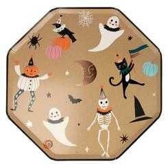Platos Halloween Vintage L