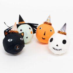 Vintage Halloween Surprise Balls