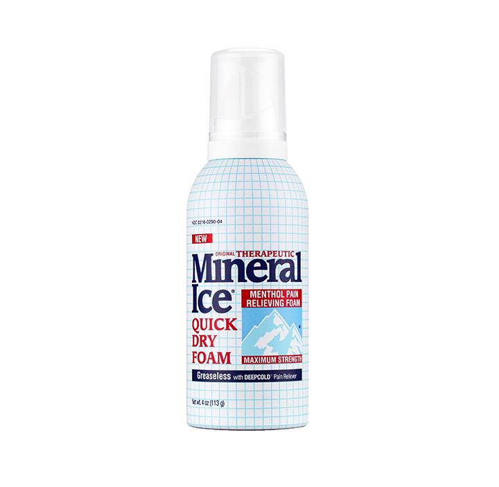 Mineral Ice Foam Bottle