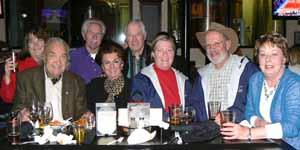 AJ & Chuck with fellow Carson city Chamber Members
