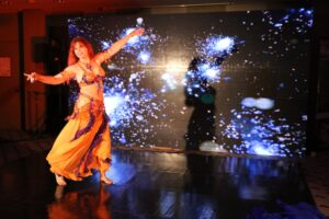 Amina performing Turkish Oryantal in Istanbul