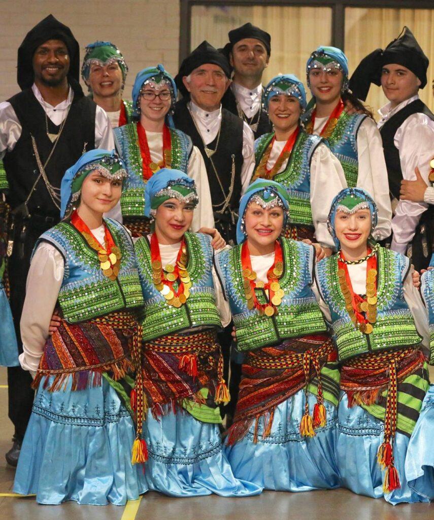 Amina with the Turkish American Association of Minnesota Folkdancers