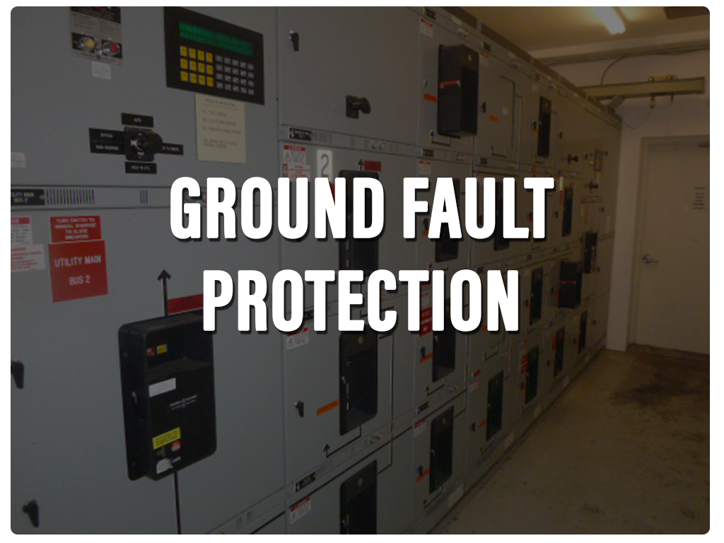 Ground Fault green fin 1