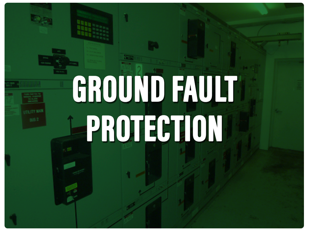 Ground Fault green fin
