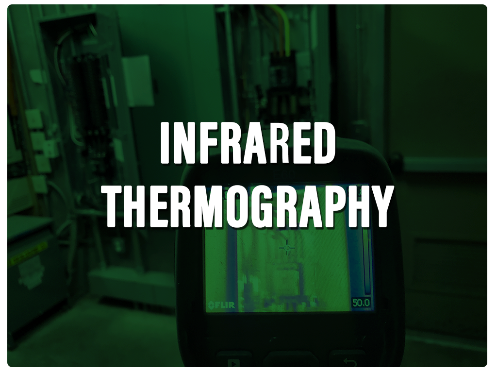 Infrared Thermography Curved Green