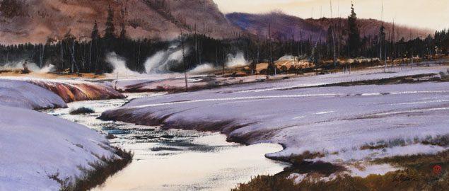 Yellowstone Watercourse