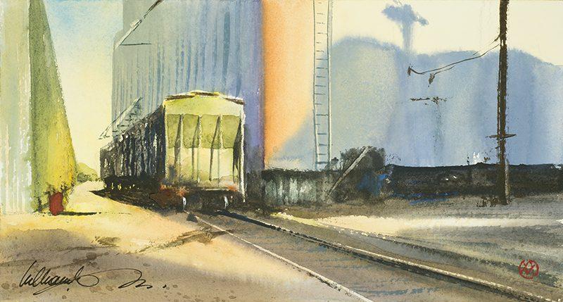 Rail Yard Shadow