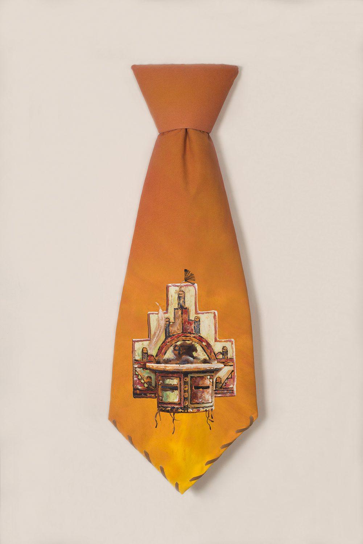 Kachina Mask Tie