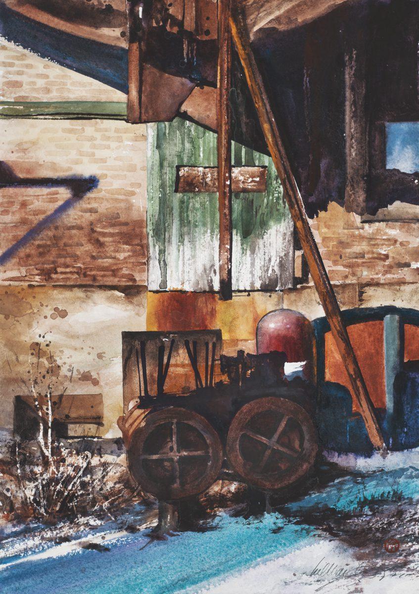 Steel Mill Still Life