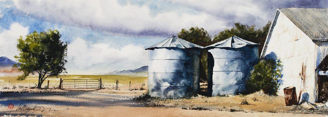 Gamble Ranch Panorama