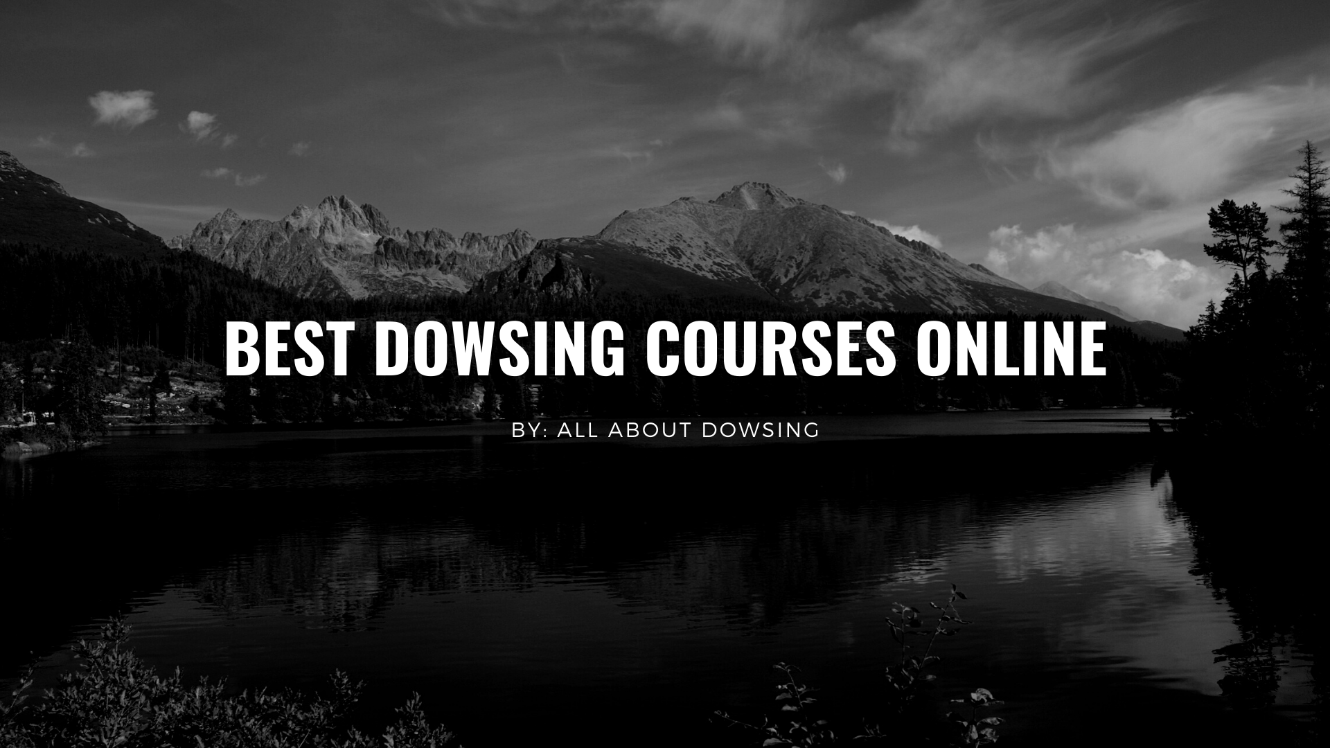best-dowsing-courses-online