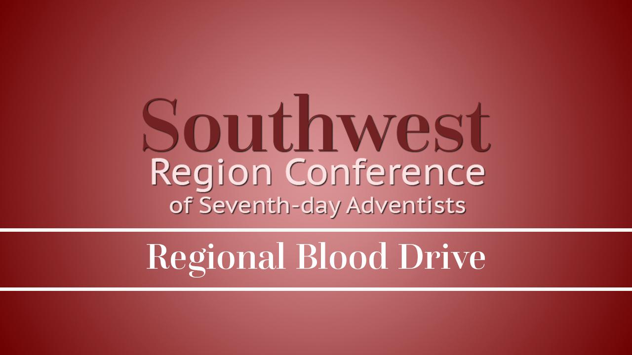 SWRC Regional Blood Drive