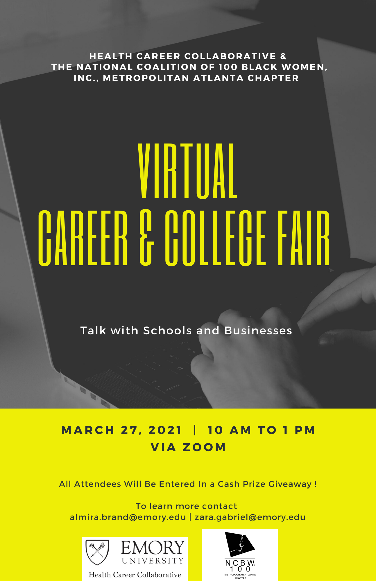 REVISED HCC-NCBW Career and College Fair Flyer - Shannan Diggs