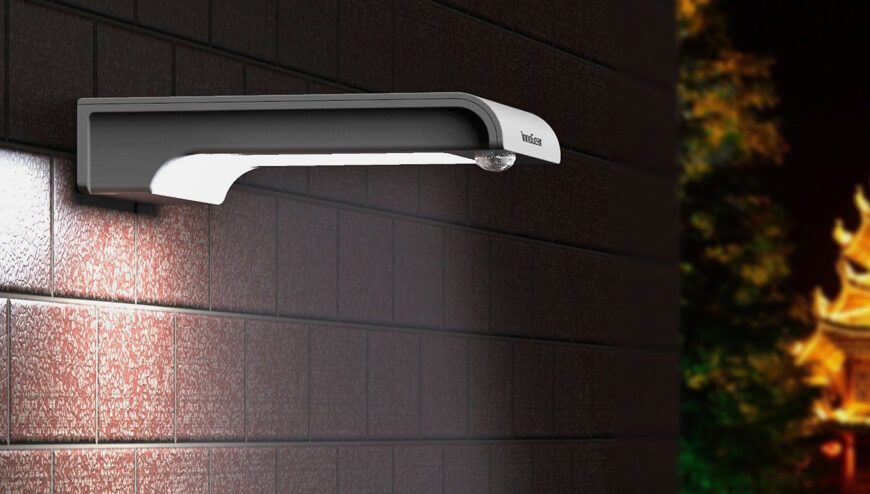 outdoor motion light installed by FMJ Electrical