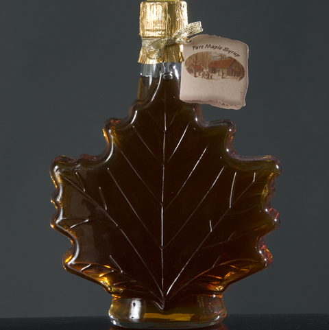 Maple Leaf Glass Bottle 25 oz.-10