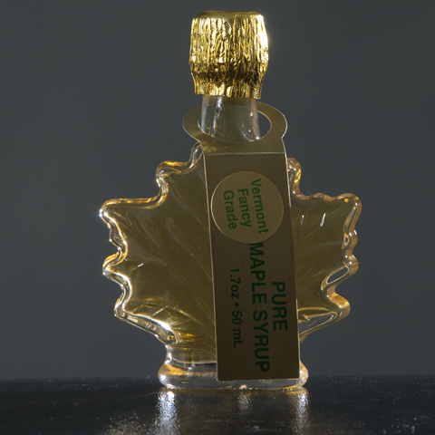 Maple Leaf Glass Bottles 1.7 oz.-0