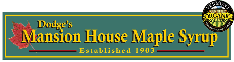 Dodge's Mansion House Maple Syrup