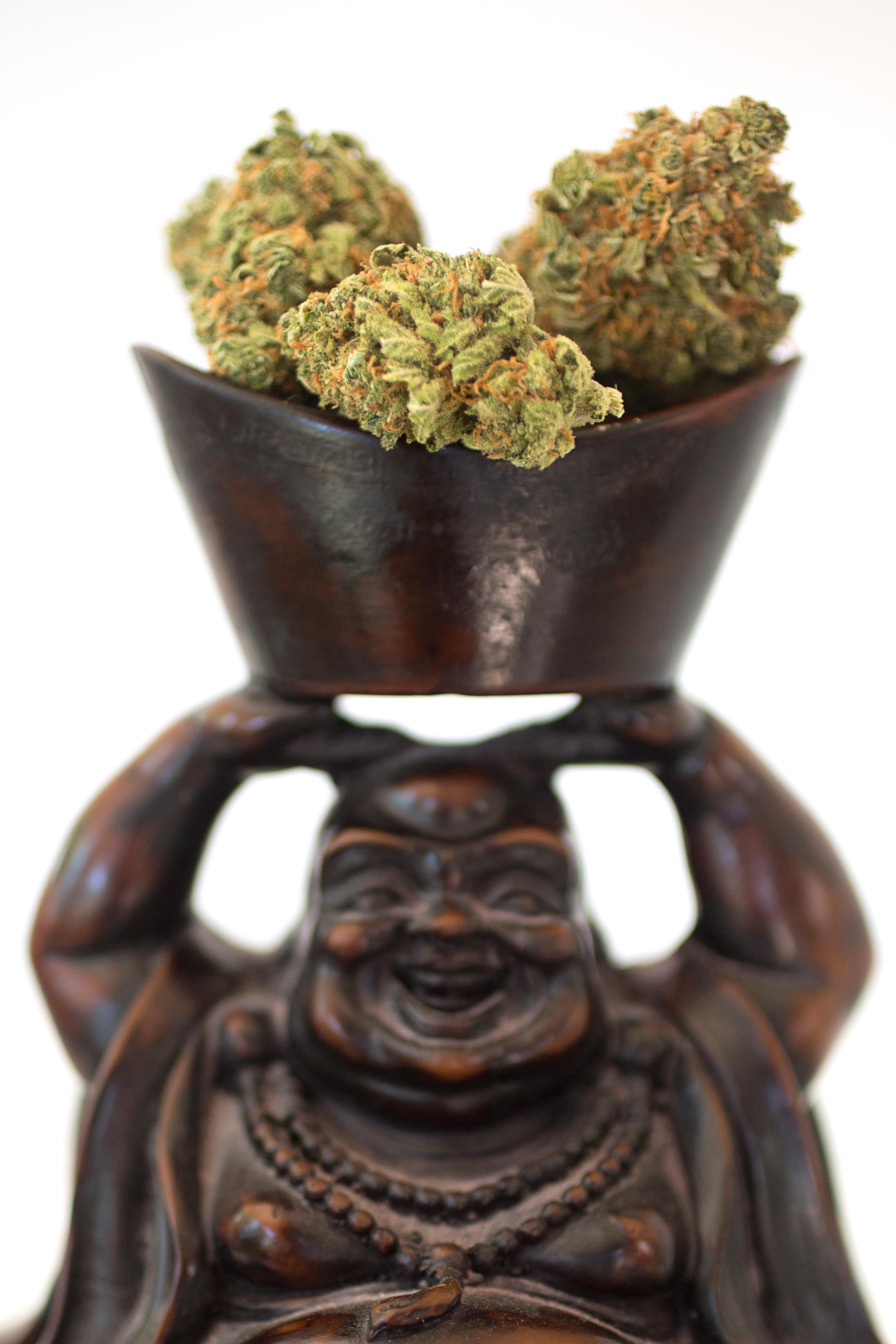 Buda with product
