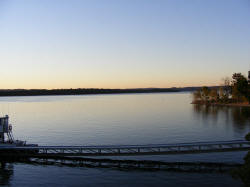 Scenery from Dock of the Branson Belle