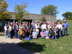TouGroup at the Battlefield Visitors Center (not everyone in the picture)