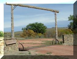 2004 Fall colors , Ranch Entrance