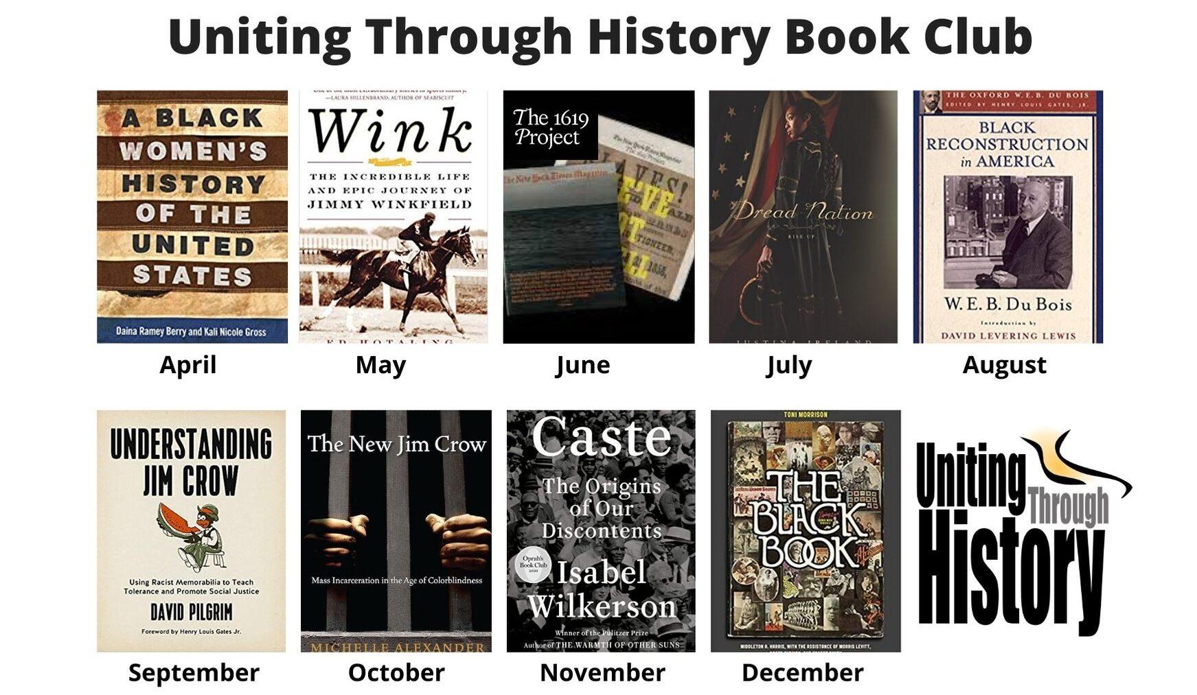 History Book Club Calendar