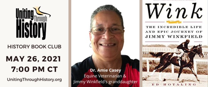 Dr. Amie Casey and Jimmy Winkfield Book