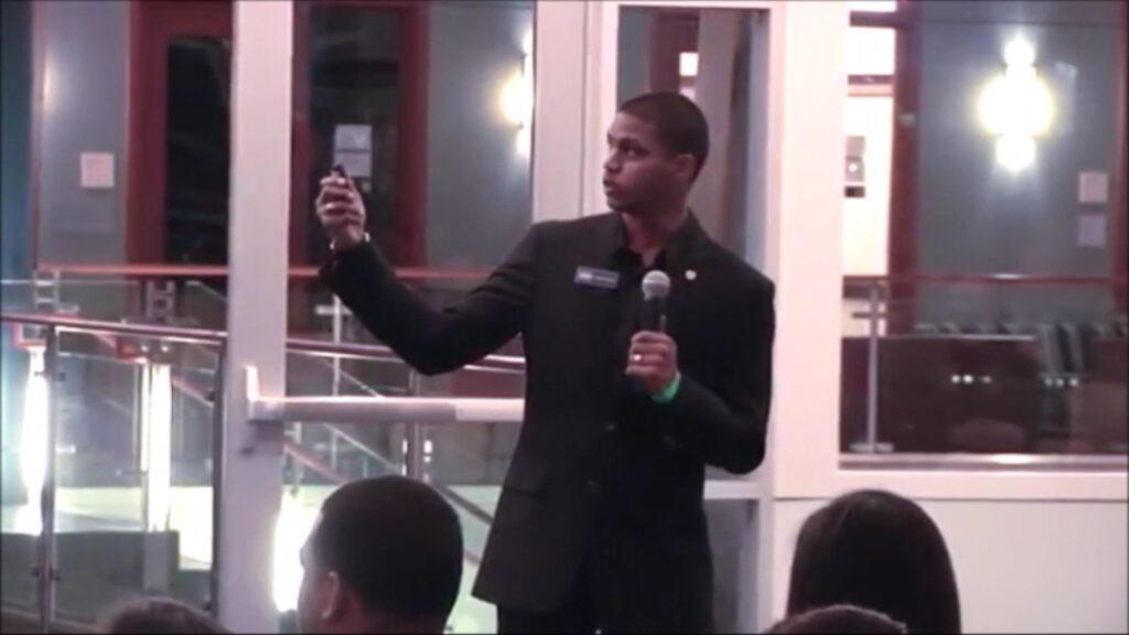 Speaking at Georgetown MSB