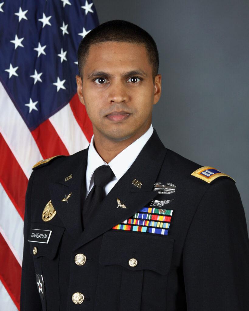 Gerald Gangaram, Captain, Commander
