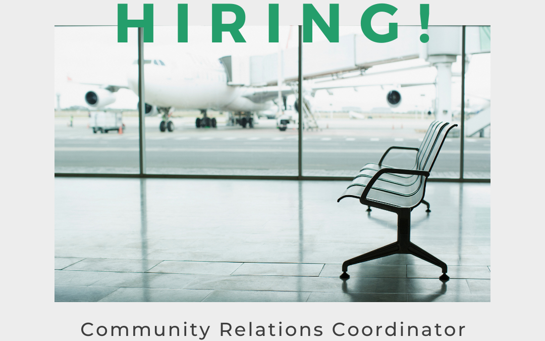 Now Hiring: Community Relations Coordinator
