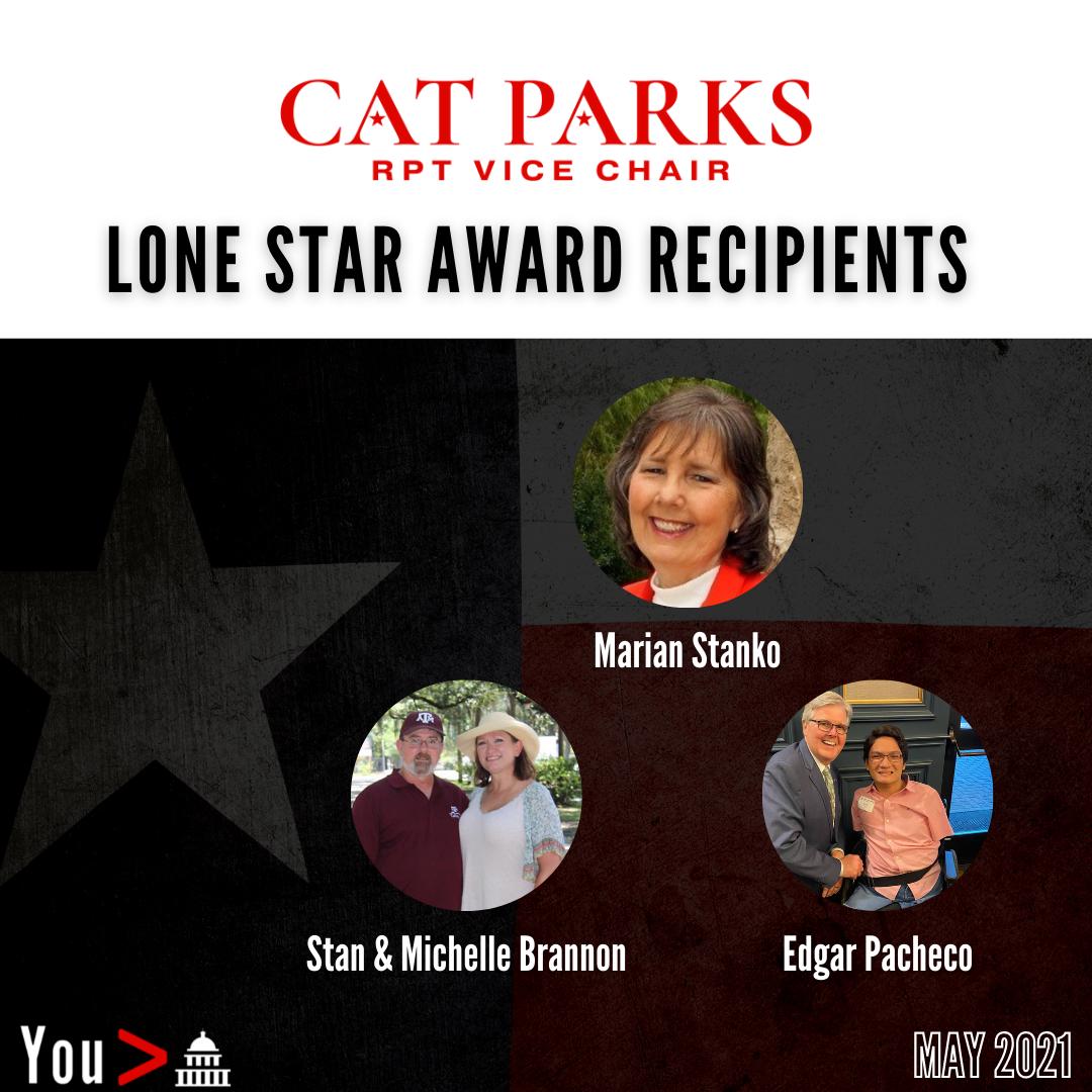 Cat Parks Texas Lone Star Award