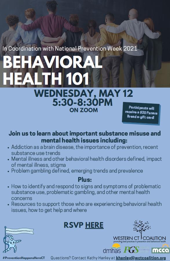 Behavioral Health 101 @ Virtual