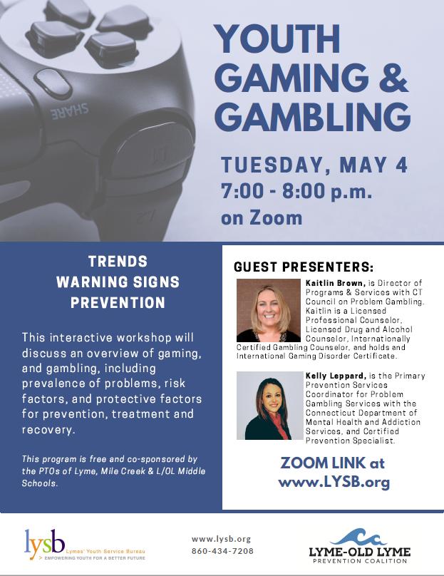 Youth Gaming & Gambling @ Virtual