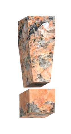Stone exclamation