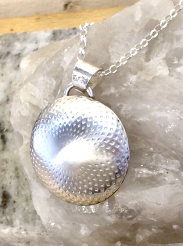 Dome Silver Necklace